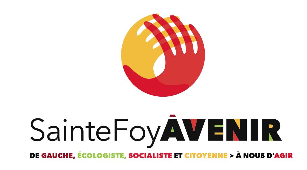 Logotype de la liste SainteFoyÀVENIR