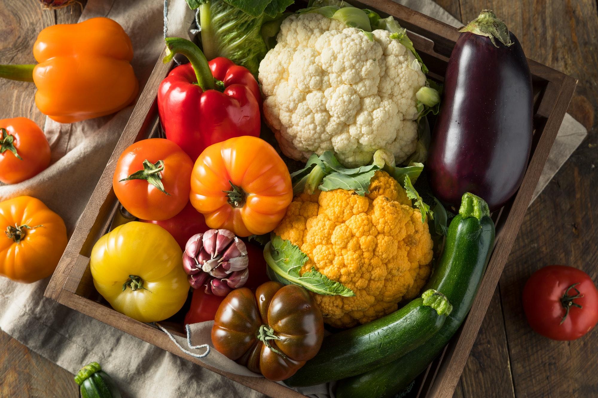Healthy Organic Summer Farmers Market Box